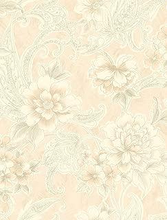 Pink Floral WallpaperDamask Wallpaper Gold Damask Wallpaper Art Deco Wallpaper Rose Wallpaper Gold Pink Wallpaper