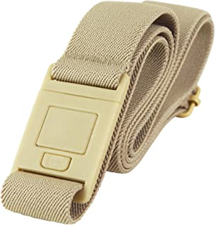 Adjustable Stretch Belt With No Show Buckle by Beltaway Square Buckle