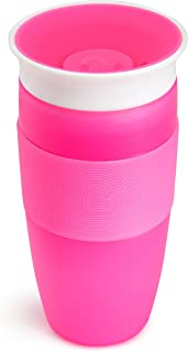 Munchkin Miracle 360 Sippy Cup, Pink, 14 Ounce