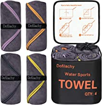 Dofilachy 4 Pack Camping Towel - Camping Towels Quick Dry...