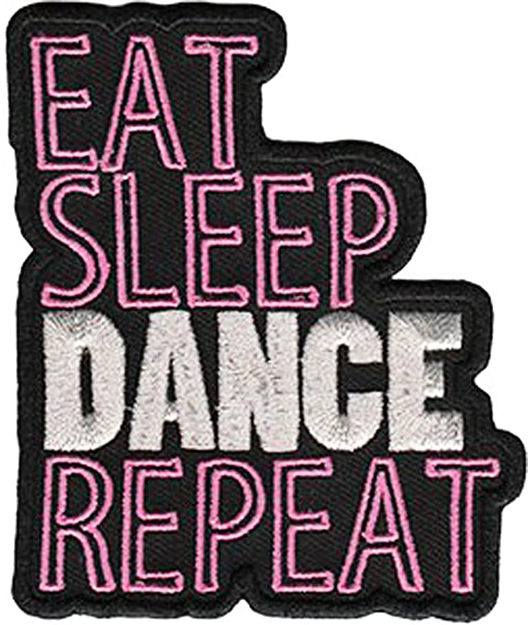 Application Eat Sleep Dance Repeat Patch