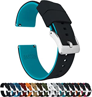 Barton Elite Silicone Watch Bands – Quick Release – Choose Color –..