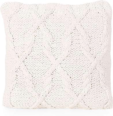 Amazon.com: Almohada de Emma tejida a mano de 7.1 x 7.1 in ...