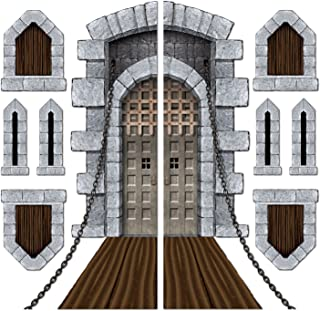 Beistle 52081 Printed Castle Door and Window Props, 16