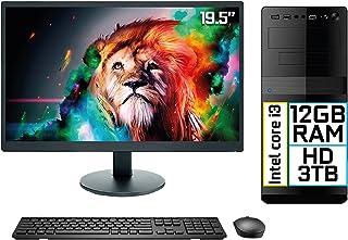 "Computador Completo Intel Core i3 12GB HD 3TB Monitor LED 19.5"" HDMI EasyPC Go"