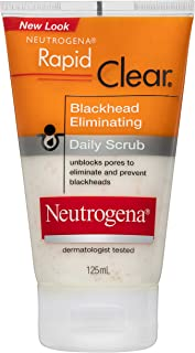 NEUTROGENA NEUTROGENA Rapid Clear Blackhead Scrub 125mL, 0.123 kg