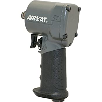 "AirCat 1057-TH 1/2"" Impact Wrench, Compact, Grey"
