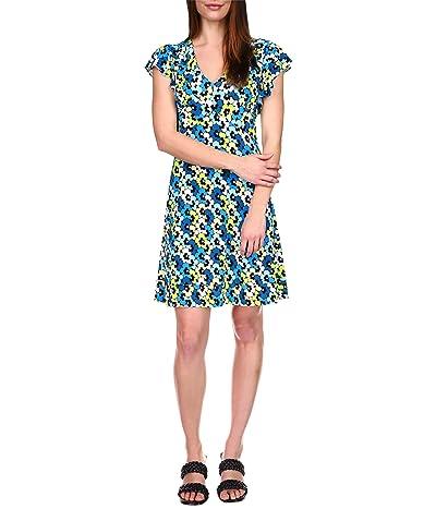 MICHAEL Michael Kors Sixties Floral Seamed Dress