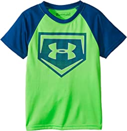 Metallic Sync Homeplate Short Sleeve Tee (Little Kids/Big Kids)