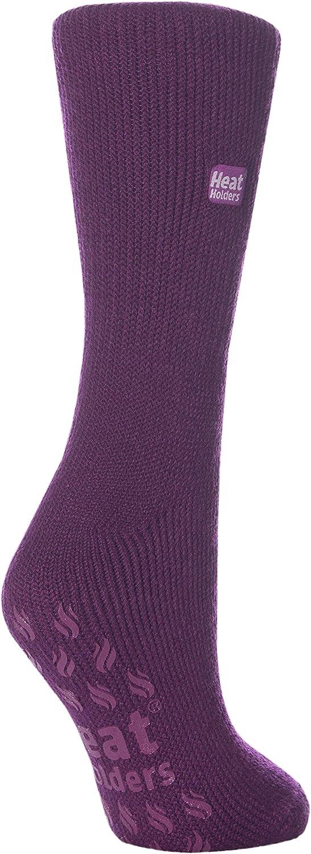 Women's Thermal Heat Holders SLIPPER Socks 5-9 Lavender