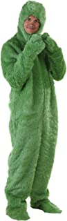 Adult Furry Green Monster Costume Green Monster Christmas Onesie for Adults