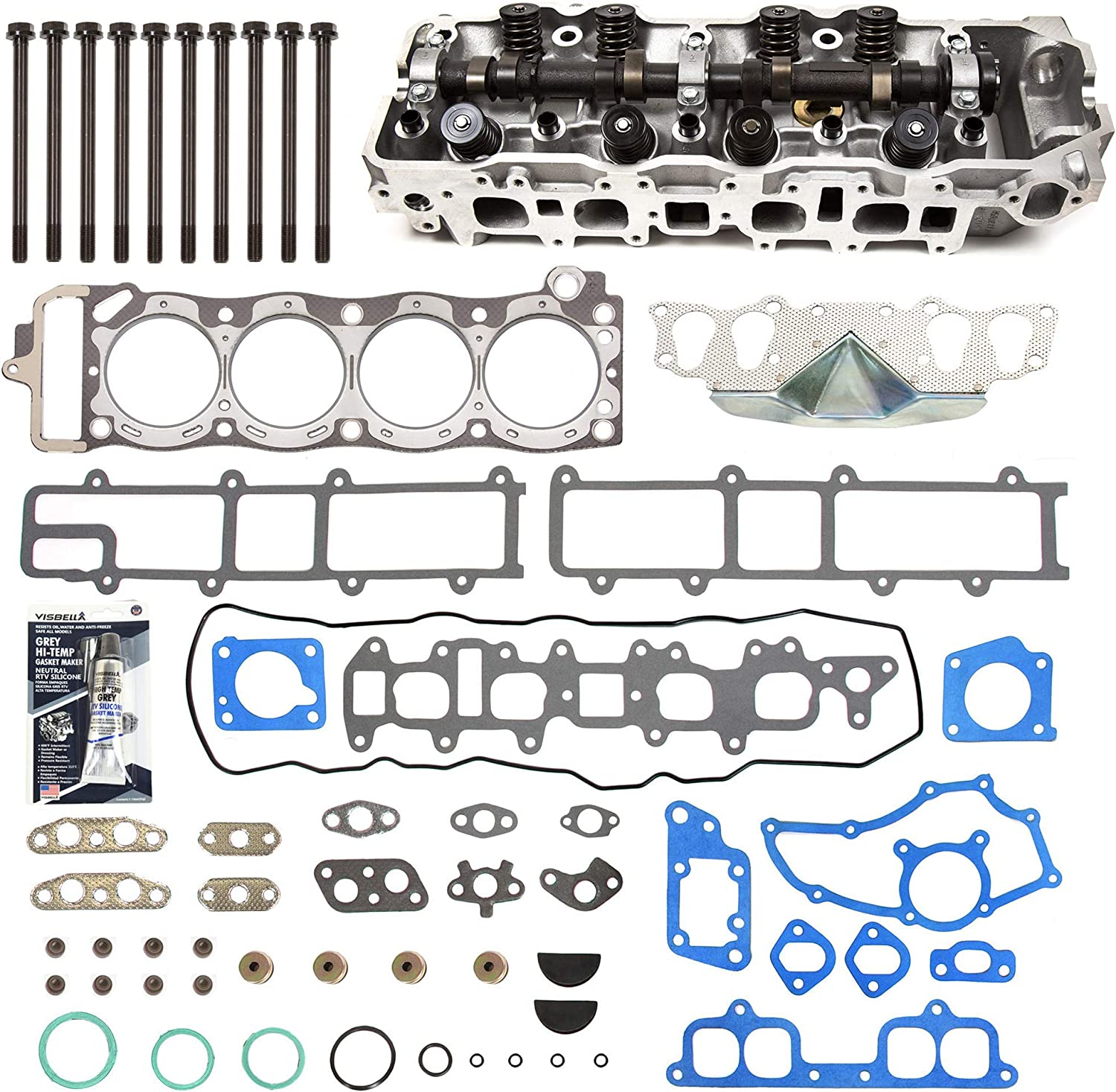 Evergreen CHHSHB2000-3 Gorgeous Complete Cylinder Set He Gasket Head Clearance SALE Limited time