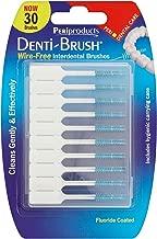 Periproducts Ltd 6 X Denti-Brush 30 Wire-Free Interdental Brushes