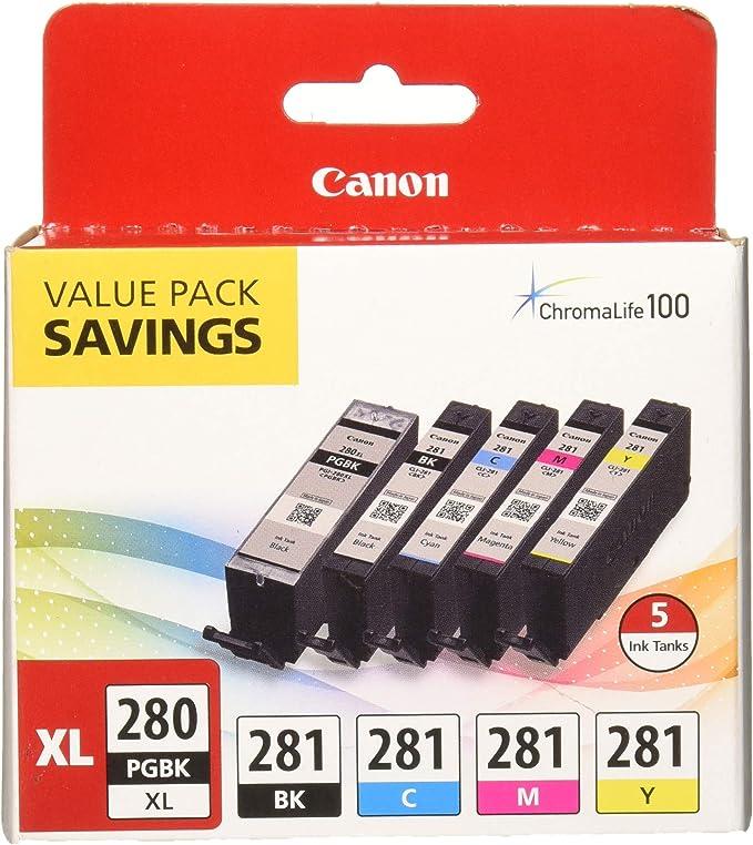 ReInkMe Compatible PGI-280XXL Pigment Black Ink Cartridge for Canon TS8120