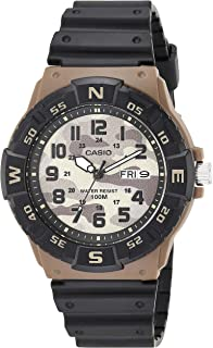 Casio Men's Analog Quartz Watch with Resin Strap
