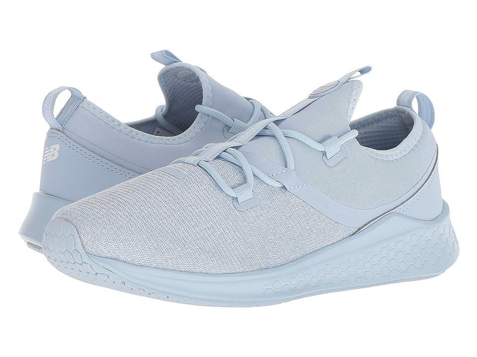 New Balance Kids KJLAZv1G (Big Kid) (Ice Blue/White) Kids Shoes
