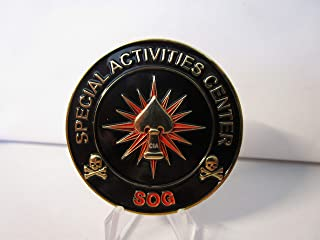CIA SAC SOG Special Activities Center Special Operations Group Challenge Coin