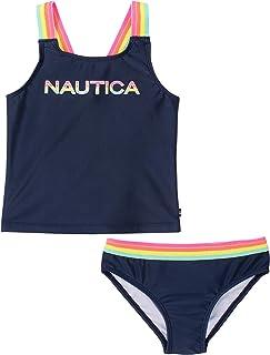 کت و شلوار شنا زنانه Nautica Tankini با 50 محافظ در برابر آفتاب