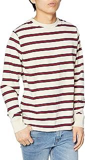 [ナノユニバース] :16/-OEマルチボーダー Tシャツ LS メンズ