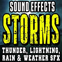 Huge Thunder Lightning Strikes Sound Effects