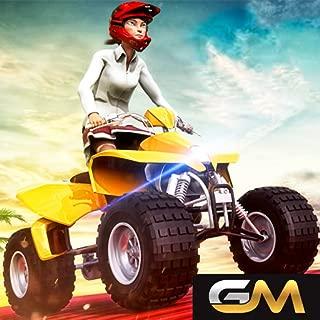 Quad Bike Racing Game Stunts Master: Tricky Ramp High School Atv Bike Crazy Racing 3D