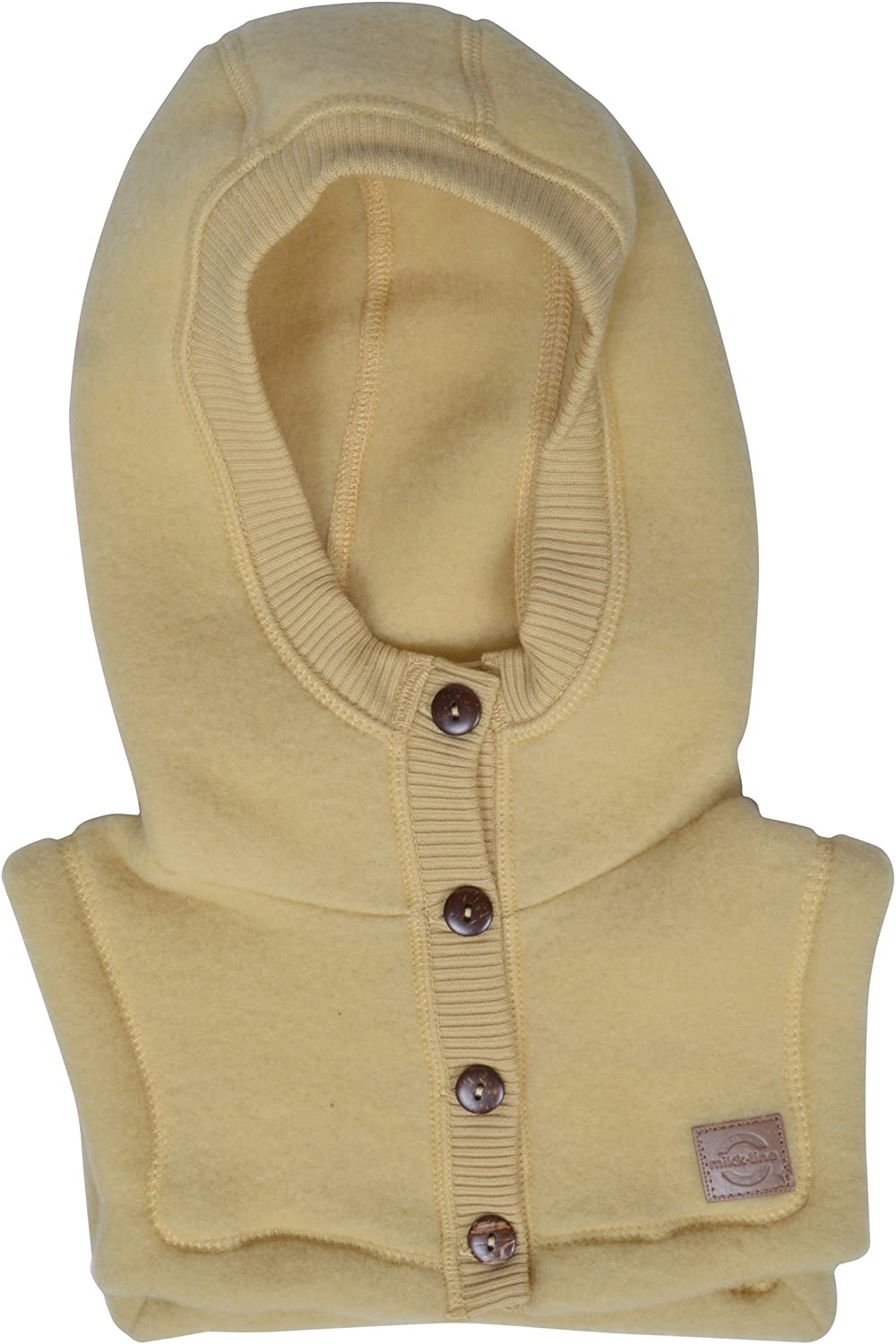 MIKK-Line - Melton Girls' Wool with Closure Hat Full-Neck Large-scale sale Animer and price revision