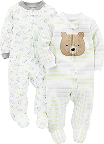 Simple Joys by Carter's Baby 2-Pack Cotton Footed Sleep and Play