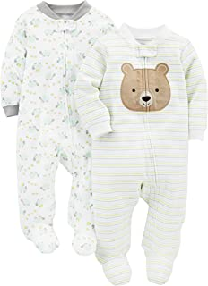 Simple Joys by Carter's Baby 2-Pack Cotton Footed Sleep...