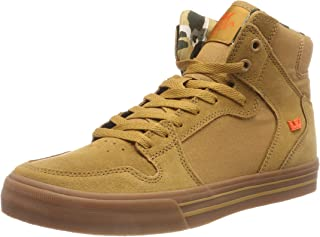 9577a42ee20d Supra Mens Vaider Tan Lt Gum Shoes Size