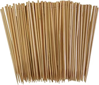 800 Pcs Bamboo Skewers Wood Sticks for BBQ Fondue Fruit Cheese Toothpicks 4 inch