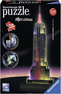Ravensburger 12566 – Empire State Building Night Edition Puzzle