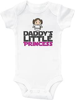 / Daddy's Little Princess/White Baby Onesie/Baby Girl Star Wars Inspired Onesie