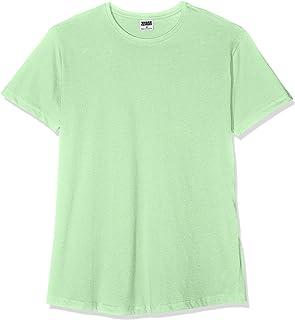 Urban Classics Shaped Long Tee Maglietta a Maniche Corte, T-Shirt Oversize in Cotone Jersey con Girocollo, Abbigliamento C...