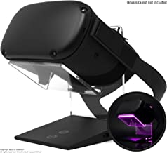 Illuminated Charging VR Stand – Universally Compatible with Oculus Quest, HTC Vive, Rift-s, Go, Cosmos, PSVR, Index and All Standard Sized VR Headsets   Aura