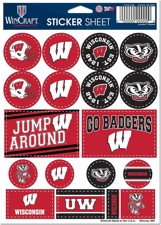 WinCraft NCAA University Wisconsin Badgers 5