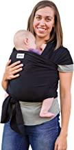 Baby Wrap Ergo Carrier Sling - by Sleepy Wrap (Black)