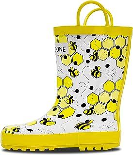 179e3b7b7d448 Amazon.com: White - Rain Boots / Outdoor: Clothing, Shoes & Jewelry
