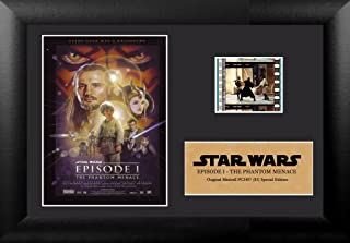 Star Wars Episode I The Phantom Menace Authentic 35mm Film Cells Special Edition Display