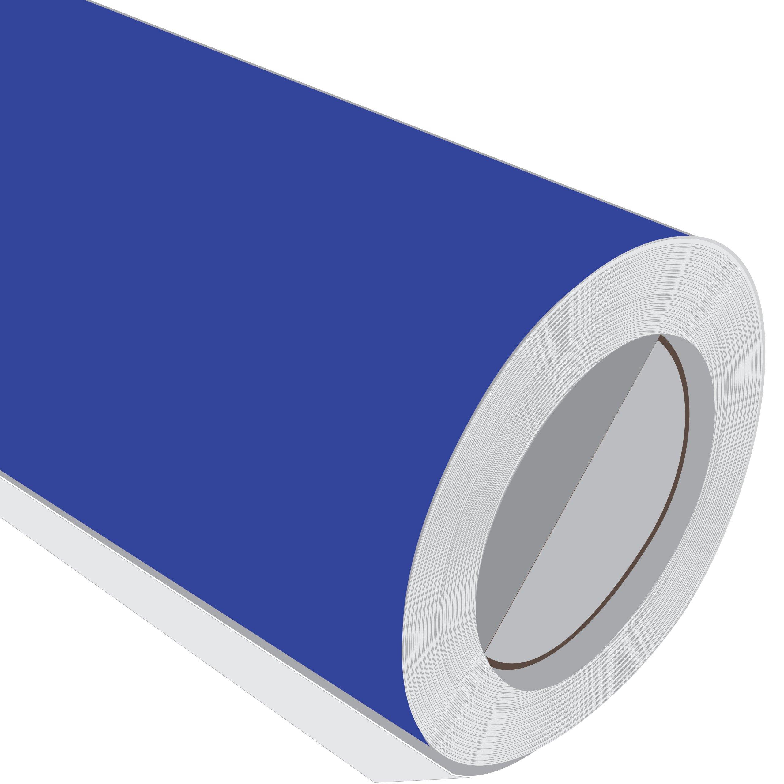 5 m (5 m) rollo de HD brillante azul brillante 610 mm de ancho Vinilo autoadhesivo: Amazon.es: Hogar