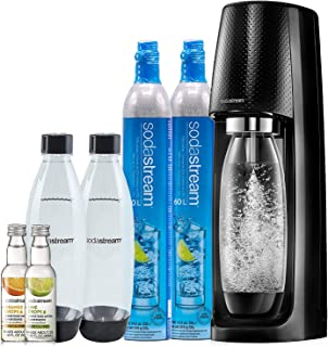 SodaStream 1101098010 Fizzi Sparkling Water Maker, 9.2 x 11.2 x 17.4 inches, Black