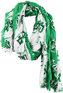 Zoozats Adult NCAA Allover Team Logo Fringed Scarf