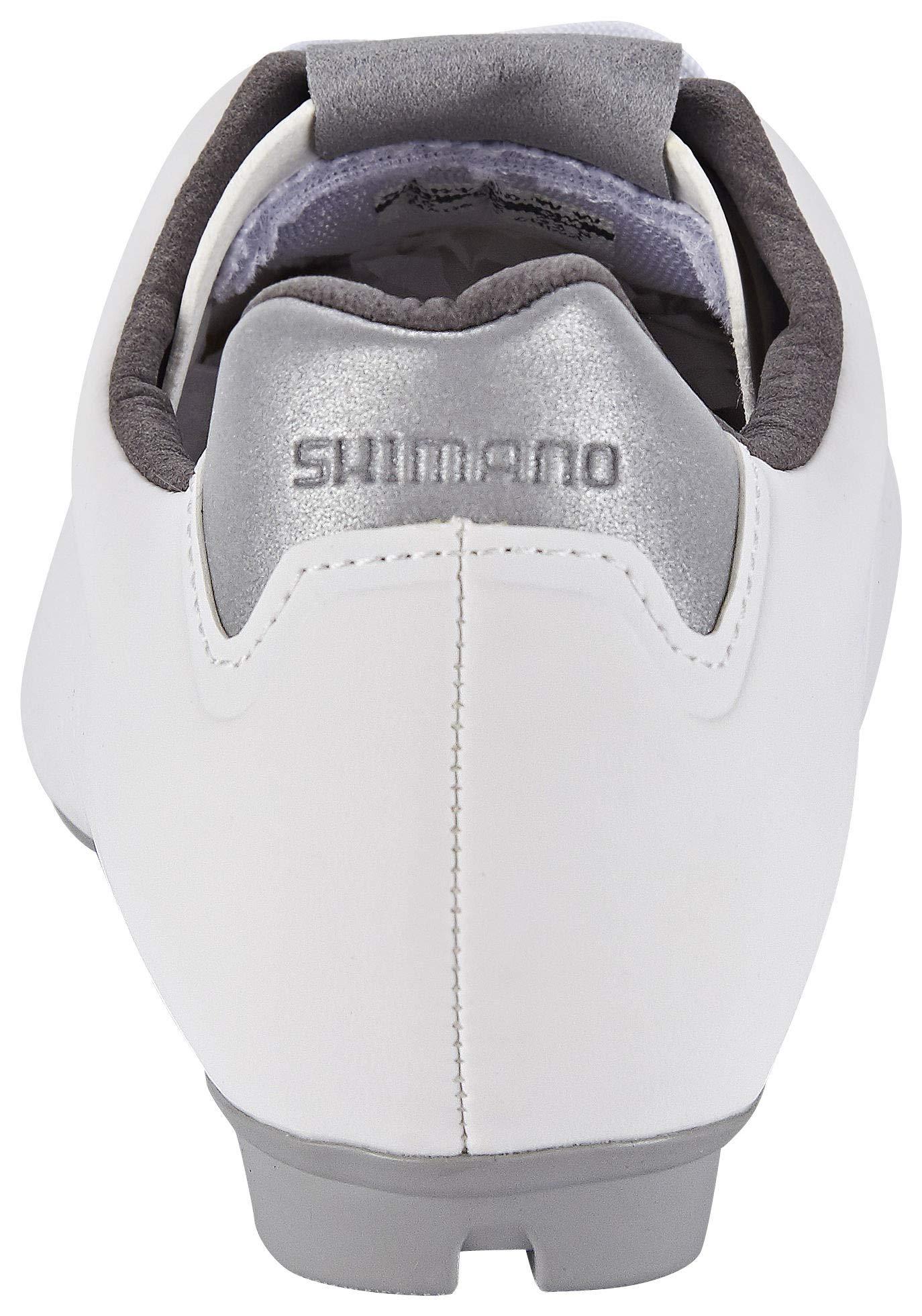 SHIMANO RT4W SPD - Zapatillas de Ciclismo para Mujer, Color Blanco ...