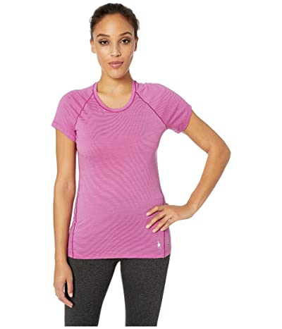 Smartwool Merino 150 Baselayer Pattern Short Sleeve (Meadow Mauve) Women
