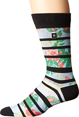 Hibiscus Athletic Socks