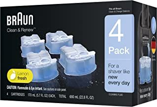 Best braun clean and renew liquid Reviews