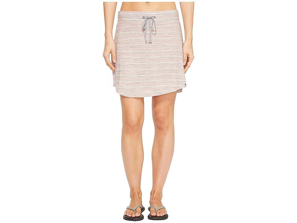 Smartwool Horizon Line Skirt (Mineral Pink) Women
