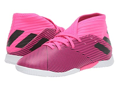adidas Kids Nemeziz 19.3 IN Soccer (Little Kid/Big Kid) (Shock Pink/Black) Kid