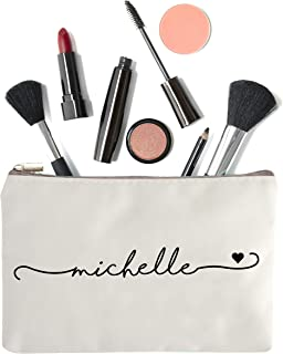 Makeup Bag with Name - Personalized Makeup Bag - Make Up Bag - Bridesmaid Bag -Personalized Make Up Case - Bridesmaid Gift - Makeup Bag Gift