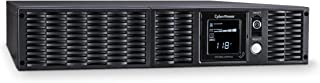 CyberPower PR1000LCDRT2U Smart App Sinewave UPS System, 1000VA/900W, 8 Outlets, AVR, 2U Rack/Tower