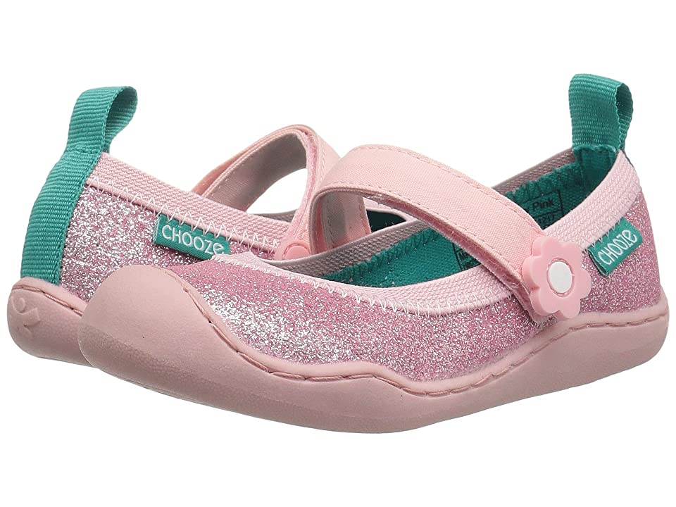 CHOOZE Steady Glow (Toddler/Little Kid) (Glow Pink) Girls Shoes